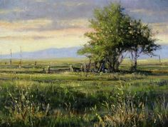 Long Shadows by Carol Jenkins Oil ~ 16 x 20