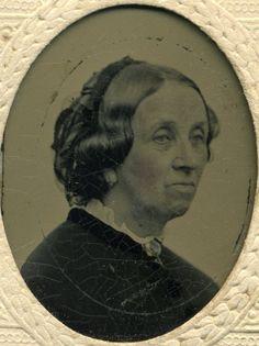 Tinted Tintype Photo of Lady Embossed Paper Frame Civil War Poem on Back | eBay