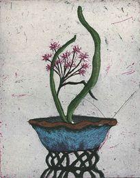 Neuvonen Kirsi Flower Art, Planter Pots, Drawings, Artist, Flowers, Diy, Ideas, Art Floral, Bricolage