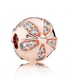 Pandora Rose Dazzling Daisies Clip