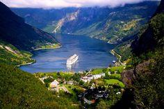 Fiordo Geiranger, Noruega 'Increíbles paisajes de otro mundo'
