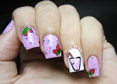 Nail Wish , Fresas/Strawberries #nail #nails #nailsart
