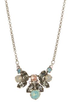 A gorgeous crystal statement necklace to pair effortlessly with any ensemble this season.