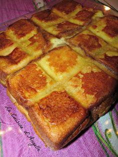 croque-pomme 8 tranches de brioche 2 pommes 20-25 cl de crème fraîche liquide (entière ou pas) 3 oeufs 2 cuill. à soupe de sucre une noix de beurre et cannelle