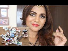 Makeup Tutorial For Evening Party Indian Skin+Big International Giveaway