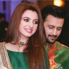 Sara bharwana nd atif aslam Celebrity Singers, Celebrity Couples, Celebrity Weddings, Tv Couples, Beautiful Girl Indian, Beautiful Indian Actress, Beautiful Couple, Pakistani Wedding Outfits, Pakistani Bridal