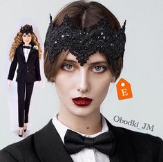 Black crown, evil queen crown, Halloween costume, Halloween hat, sex and the city, satc, black fascinator by obodkijmYou already choose HALLOWEEN look?👑😈 Evil queen crown is ready for shipping✈️ Just 60$ and you'll be a queen! Click here👇 https://www.etsy.com/il-en/listing/253709936/evil-queen-crown-black-crown-black?ref=shop_home_active_45