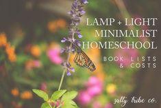 Book List   Lamp + Light Minimalist Homeschool