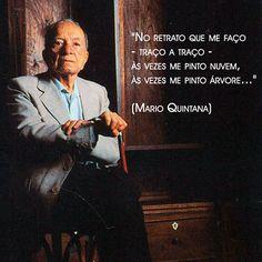 Em 5 de maio de 1994, aos 87 anos, Mario Quintana voava para outros mundo, feito nuvem, feito pas...