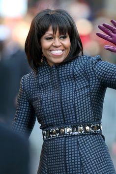 Karl Lagerfeld Michelle Obama Fringe -  Bad Idea (Vogue.com UK)