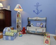 Nelson's Nursery - eclectic - kids - new york - Peggy Berk - Area Aesthetics Interior Design