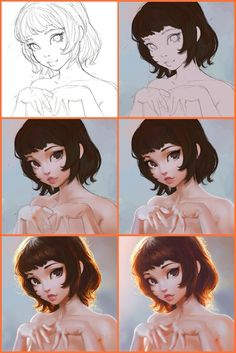 Amazing work By Ilya Kuvshinov