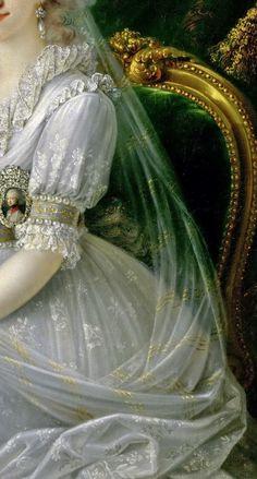 Princess Luisa of Naples and Sicily ( Luisa Maria Amalia Teresa) by Joseph Dorffmeister, 1797  - Click to enlarge
