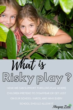 The benefits of risky play in the fog include a thrilling sense of independence, and an ability to test one's own limits within reasonable circumstances. Classroom Activities, Classroom Organization, Physical Activities, Types Of Play, Hiding Spots, Science Curriculum, New Environment, Outdoor Classroom, Outdoor Learning