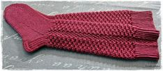 Suvikumpu: Nappivarsisukat - ohje Fingerless Gloves, Arm Warmers, Knitting, Blog, Socks, Crocheting, Slippers, Diy, Fingerless Mitts