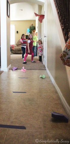 Planes Party Games & Play date paper airplanes