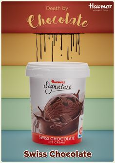 Find yourself craving the wicked pleasure of #DeathByChocolate? It's time for a swiss chocolate tub by  Havmor!