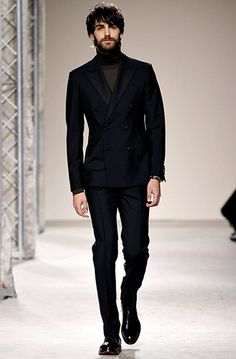 Paris Menswear: Hermes double breasted tux