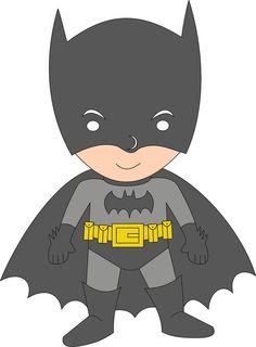 Super Heróis - Minus Batman Birthday, Birthday Bash, Superhero Clipart, Cute Clipart, Super Heros, Paper Piecing, Pikachu, Faces, Printable