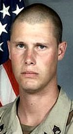 Army SSG. Michael B. Shackelford, 25, of Grand Junction, Colorado. Died November 28, 2004, serving during Operation Iraqi Freedom. Assigned to 1st Battalion, 503rd Infantry Regiment, 2nd Brigade Combat Team, 2nd Infantry Division, Camp Howze, South Korea. Died of wounds sustained when hit by enemy small-arms fire while on a combat patrol in Ramadi, Iraq.