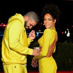 Rihanna and Drake                                                       …