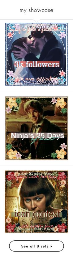 """""""my showcase"""" by ninja-potter-bright ❤ liked on Polyvore featuring art, fantasticbeasts, 25daysofbeasts, ninjaiconcontest, NPB, fans and npbiconcontest"""