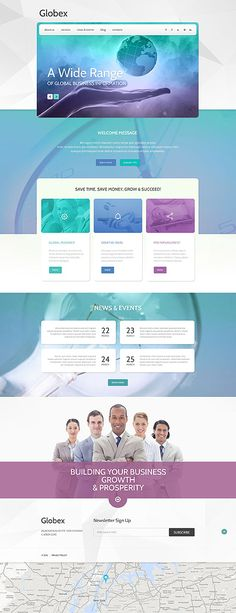 43 best business website templates images on pinterest business wordpress template 75 webdesign template wordpress business branding websites accmission Gallery