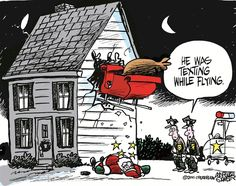 Merry Christmas Quotes : Santas texting while driving funny funny quotes humor christmas santa christmas quotes christmas quote christmas humor Funny Christmas Cartoons, Christmas Jokes, Funny Cartoons, Holiday Fun, Christmas Time, Funny Jokes, Merry Christmas, Father Christmas, Xmas Jokes