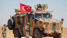ERDOGAN'S WAR: Turkey will mount a military operation in northeast Syria, it said on Saturday, . Syrian Christians, Ankara, Turkish Soldiers, Turkish Military, Military Operations, The Day Will Come, Baghdad, Armored Vehicles, Military Vehicles