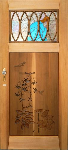 handcrafted one of a kind artistic doors  windows and doors