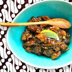 Smoor van Varkensvlees - Semoer Babi - Authentiek recept Beb Vuyk