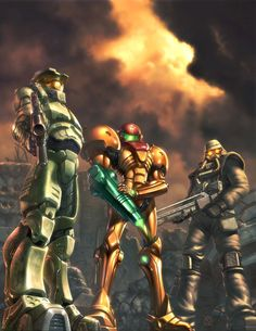 Halo, Metroid, Killzone