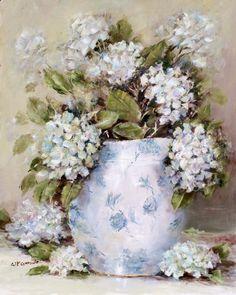 pivoines bleues