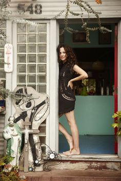 Mary-Louise Parker. Can I just own everything she ever wore as Nancy Botwin please?