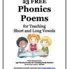 These 23 laugh-out-loud phonics poems use decodable text and top sight words for targeted teaching of short and long vowels.  Your K-3 students wil...