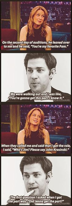 Emily Blunt has him. Jenna Fischer has dibs. I get him if we're the last two on earth haha