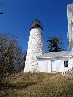 Dice Head Lighthouse (Dyce Head). Castine, Maine.