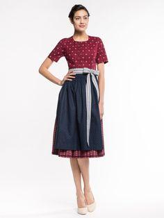 Dirndl Paula Rot von Amsel Fashion
