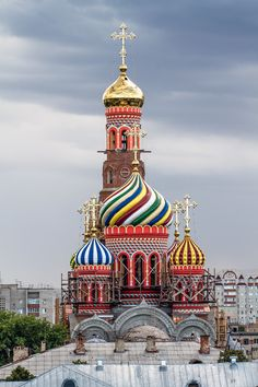 The Ascension Cathedral in Tambov, Russia More