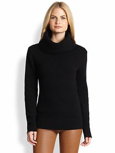 Ralph Lauren Black Label - Cashmere Cowl-Neck Sweater - Saks.com
