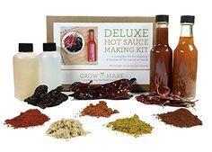 Deluxe Hot Sauce Kit