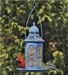 Handmade Victorian-Style Gazebo Birdfeeder