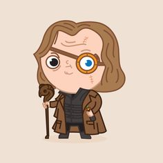 Shop Mad Eye Moody harry potter t-shirts designed by ppmid as well as other harry potter merchandise at TeePublic. Harry Potter Anime, Harry Potter Film, Harry Potter Kawaii, Moody Harry Potter, Harry Potter Thema, Cute Harry Potter, Harry Potter Drawings, Harry Potter Fandom, Harry Potter Characters
