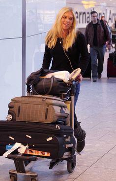 Chelsy Davy Photos: Chelsy Davy at Heathrow Airport