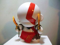 Kratos #Munny par Bordumkills ! #ArtToy #VinylToy #DesignerToy #CustomToy