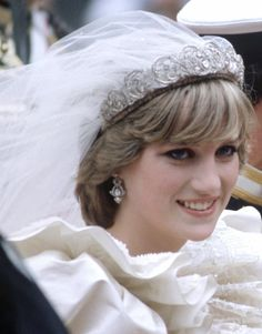 Lady Diana Spencer purposely selected to become Queen Mother, and afterwards was tossed away by Charles. Royal Princess, Princess Diana Wedding, Princess Diana Fashion, Princess Diana Pictures, Princess Diana Family, Princess Diana Hairstyles, Princess Diana Tiara, Princesa Elizabeth, Princesa Kate