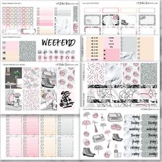 CHAOS THEORY Planner Sticker Kit for your Erin Condren Vertical, Happy Planner, Filofax, Kikki K and More by GPStickerStudio on Etsy https://www.etsy.com/uk/listing/530096782/chaos-theory-planner-sticker-kit-for
