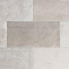 Stone Silver Porcelain Tile - 12 x 24 - 100221126 Stone Look Tile, Wood Look Tile, Tile Stores, Flooring Store, House Tiles, Grey Flooring, Floors, Luxury Vinyl Plank, Grey Wood