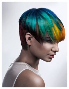 Color Zoom Challenge US Semi-Finalist: Terry Graham  |  ModernSalon.com