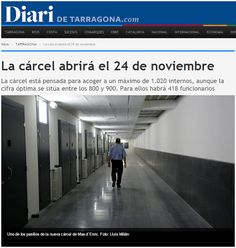 WEBSEGUR.com: PRÓXIMA INAUGURACIÓN EN TARRAGONA, LA CÁRCEL DE 5 ...